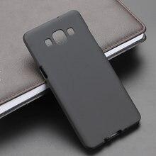A3 a5 2015 2016 2017 a8 2018 plus gel tpu fino macio anti skiding telefone silicone caso capa traseira para samsung galaxy a5 a500f 2015