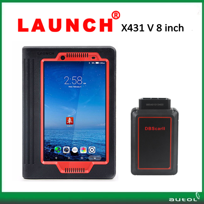 Launch X431 V with 8 inch Table PC Scanner X431 V launch x431 5 wifi/bluetooth+2 years online update+multi-language on promotion