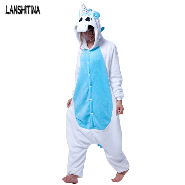 21bdac09d173 Women s Ladies Men s Adult Unisex Fleece Animal Unicorn Onesies Novelty  Pajamas Pyjamas Jumpsuit Nightwear Carnival disfraces