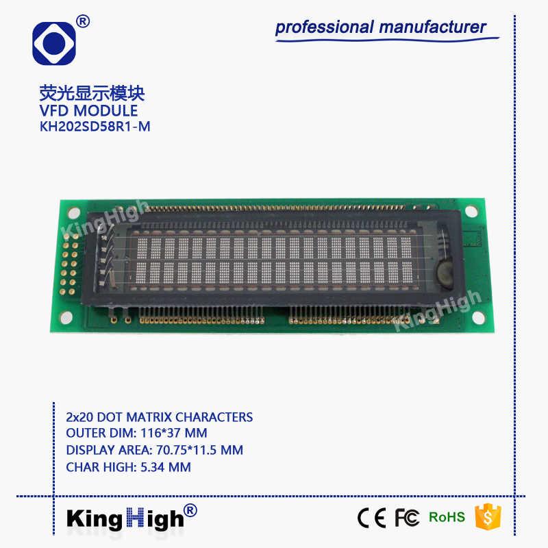 VFD Display Module 20*2 Dot Matrix KH202SD58R1 M General ... on