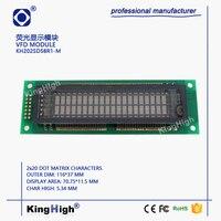 VFD Display Module 20*2 Dot Matrix KH202SD58R1-M General 20T202DA1J M202SD16