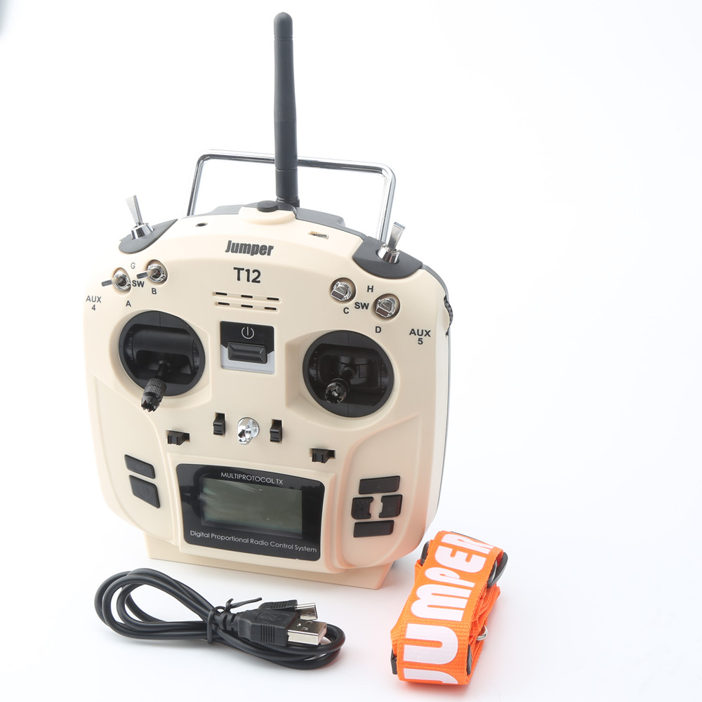 2018 Jumper T12 openTX 12ch radio with jp4 in 1 multi protocol rf module-in Parts & Accessories from Toys & Hobbies    1