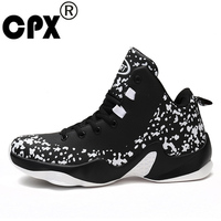 CPX 2017 Galaxy Star Men Basketball Shoes Damping Retro Mens Breathable Sports Shoes For Boy Athletic