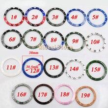 38mm rama szkiełka zegarka pasuje GMT automatyczna 40mm męska rama szkiełka zegarka pasuje do męskich zegarków