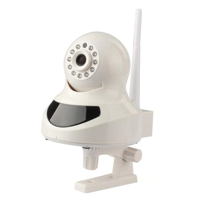 ФОТО Best Price BE-IPH02W Wireless IP Pan/Tilt/ Night Vision Internet Surveillance Camera Built-in Microphone With Phone hot DEC20