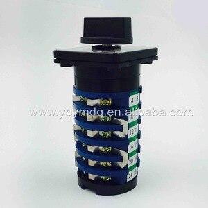 Image 5 - Máquina giratoria para soldadura interruptor de soldador 32A, 6 fases, 10 posiciones, interruptores de leva universales, KDHC 32/6*10
