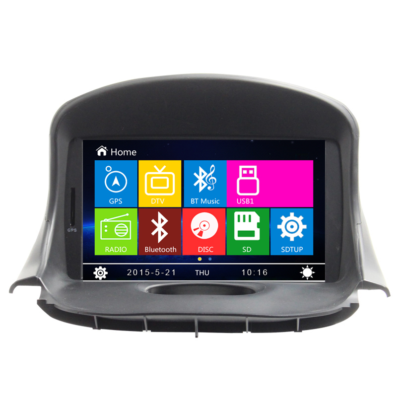 Audio Radio Video Bluetooth For Peugeot 206 Car DVD Player With GPS Navigation Free map RDS