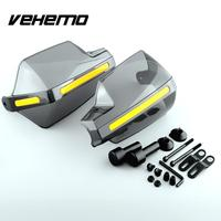 New Arrival 1pair Universal 7 8 Motorcycle Smoke Handlebar Handguards Protectors Hand Motorbike Accessories