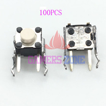 100 pces branco para xbox 360 xbox um controlador rb lb amortecedor interruptor botão repairt