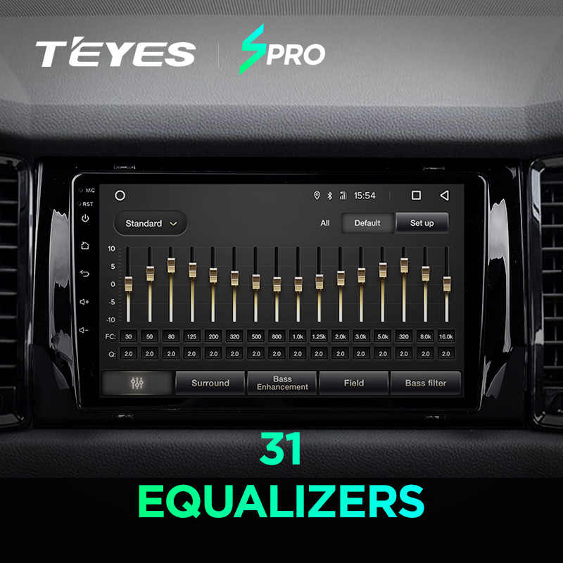 TEYES SPRO لسكودا Kodiaq 2016 2017 2018 سيارة راديو الوسائط المتعددة مشغل فيديو والملاحة GPS الروبوت 8.1 لا 2din 2 الدين dvd