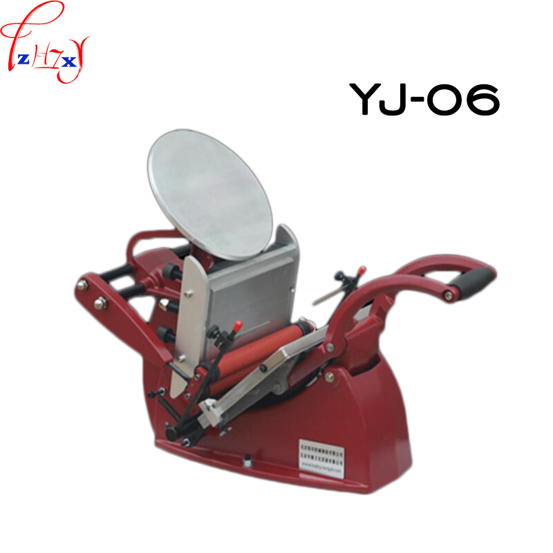 1pc YJ 06 Manual Letterpress Disc Printing Press Business Card Color