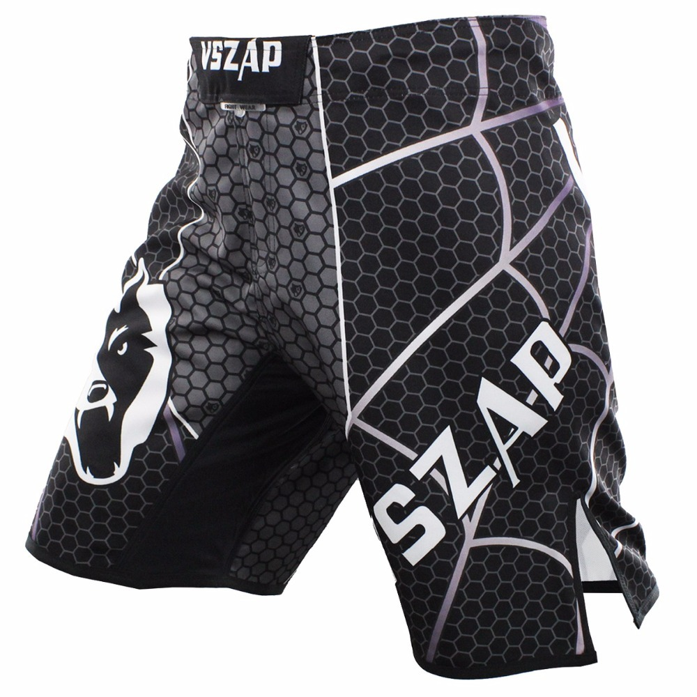 Cheap Price 2017 Vszap Boxing T Shirt Men Mma Gym Kickboxing Muay Thai Boxing Training Cotton Breathable Comfortable Mma Shorts Fight Pant Sports & Entertainment