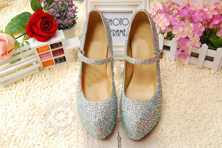 Silver Rhinestone Stiletto Heel Shoes Lady Bridal Dress Shoes Woman  Nightclub High Heel Dress Shoes Formal Shoes size 34 41-in Women s Pumps  from Shoes on ... 13f940474d7d