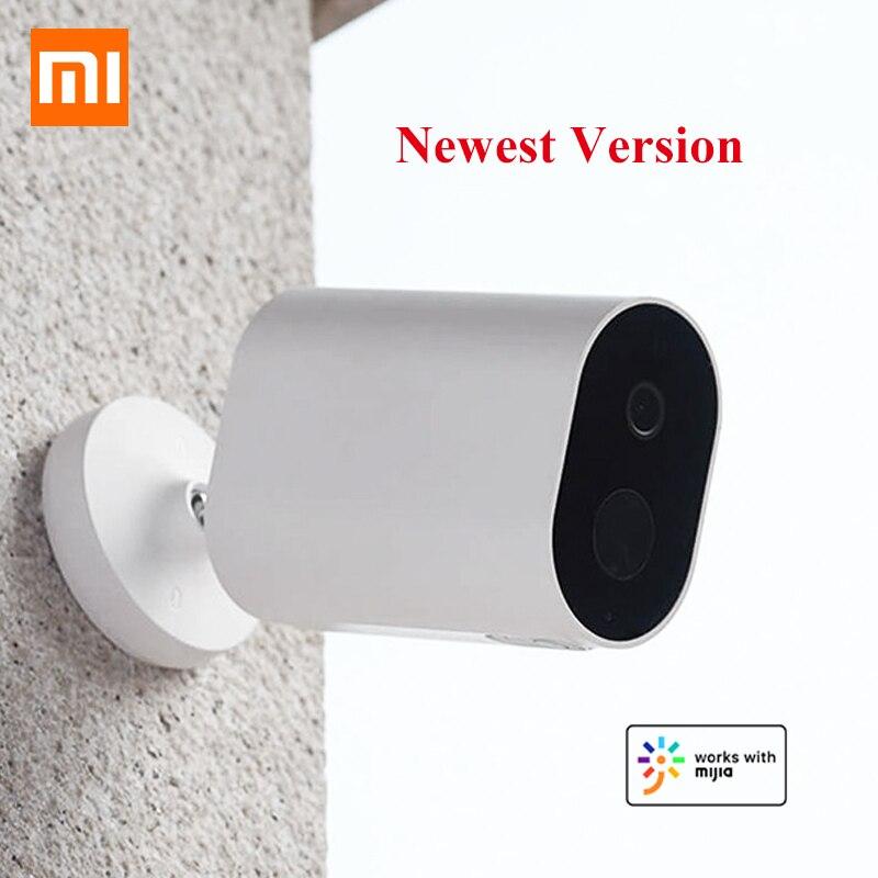 Caméra intelligente d'origine Xiaomi 1080P avec passerelle de batterie 120 degrés F2.6 IP65 AI détection humanoïde caméra sans fil IP WiFi