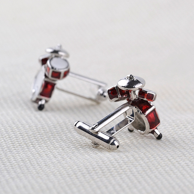 Fashion Music Band Drums Vintage Cufflinks