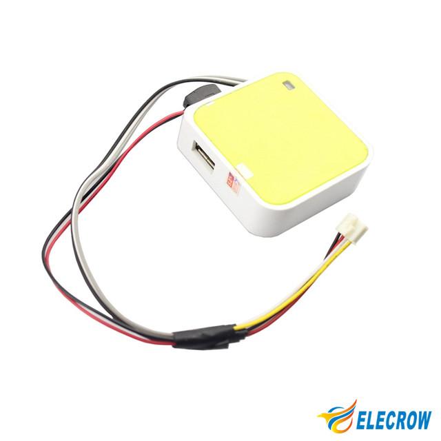 Crowtail WIFI Módulo Smart Car Robot SCM Dedicado WIFI 64 M HD de Transmisión De Vídeo de Código Abierto Kit DIY Del envío Libre