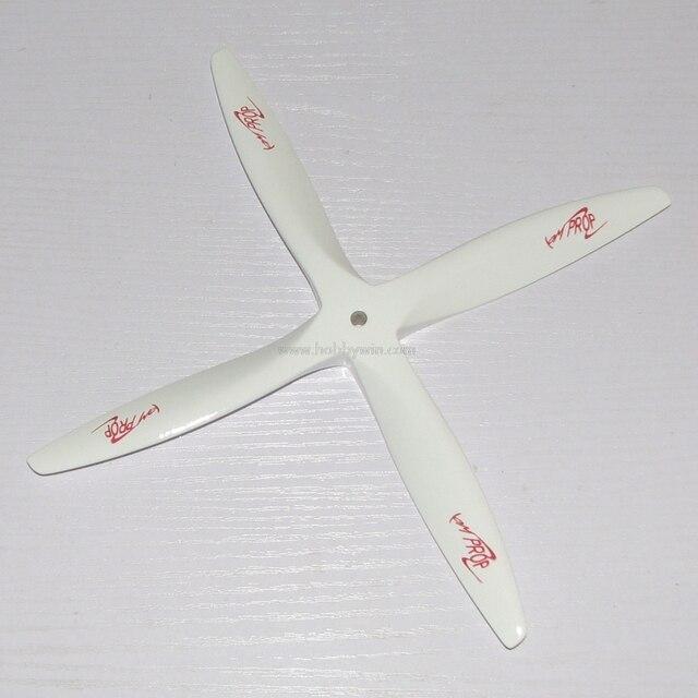 Holz Propeller 12x6 12x7 12x8 OM 4 blatt stirnfräser CCW RC flugzeug ...
