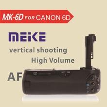 Meke майке MK-6D вертикальный Батарейная ручка держатель для Canon 6D
