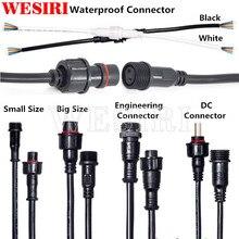 5/20/50 пар 2/3/4/5pin/DC черный/белый цвет водонепроницаемый IP65 светодиодный соединитель папа и мама применимый 0,3 мм/0,75 мм