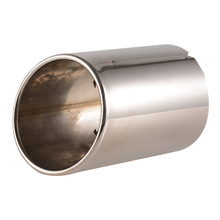 10 cm Inside Diameter Automobile Exhaust Pipes Car Stainless Steel Tail Pipe Round Tail  Pipes