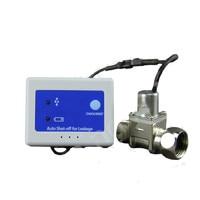 Su Kaçağı Algılama Alarm Sistemi ile Bakır Vanalar DN15 20 Su Otomatik Kilit Anahtarı Su Sel Önlemek