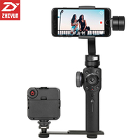 Presale Zhiyun Smooth 4 Handheld 3 Axis Brushless Gimbal Stabilizer For IPhone X For Samsung For