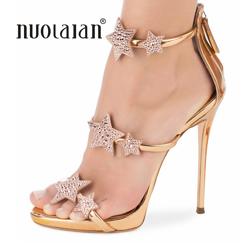 2018 Women Shoes Open Toe Women Sandals Ankle Strap High Heels Sandals Summer Party Weeding Shoes Woman Sandalias Ladies Shoes bigtree new summer shoes woman sandals high heels fashion open toe sandals women sexy ankle strap sandalias clothing party shoes