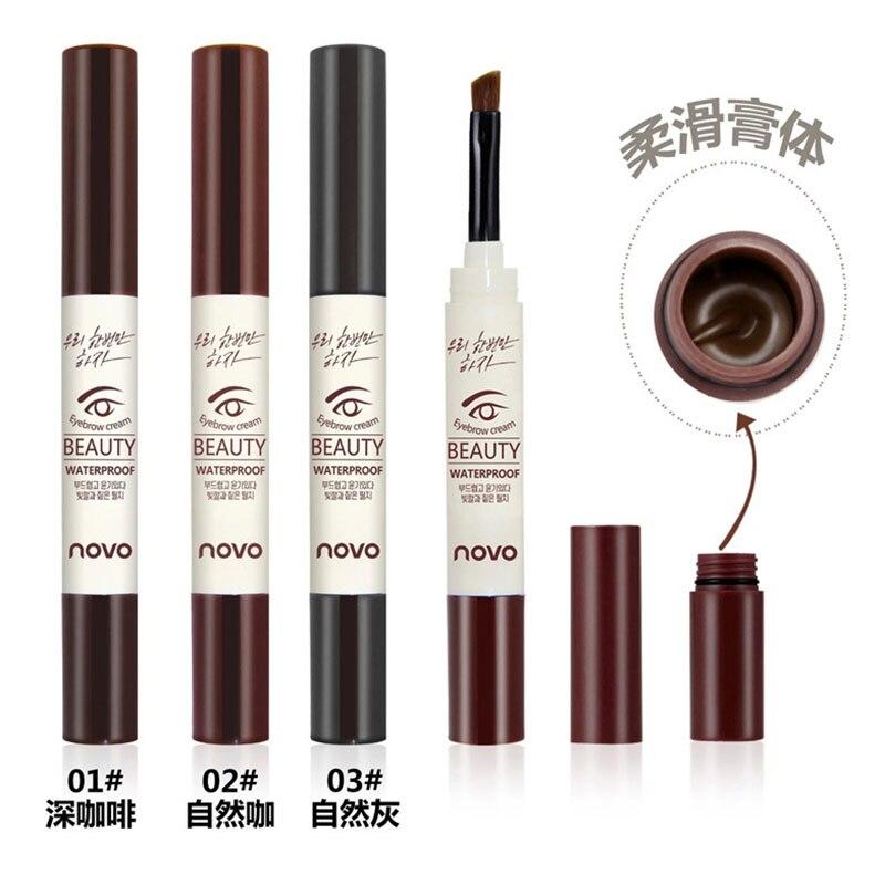 1 шт. карандаш для бровей вращающийся карандаш для бровей долговечный карандаш для макияжа глаз водонепроницаемый фотокосметический инстр...