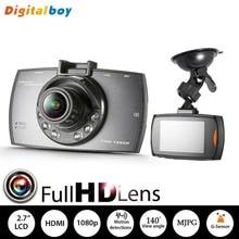 Genuíno Novatek 96220 carro DVR Full HD 1080 P 2.7 polegada visor da câmera do carro gravador de visão noturna com g-sensor de Loop Recording