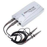 Горячие Hantek DSO2090 Hantek DSO2150 Hantek DSO2250 ПК USB осциллограф 2 Цифровой Каналы 100/150/200MSa/s