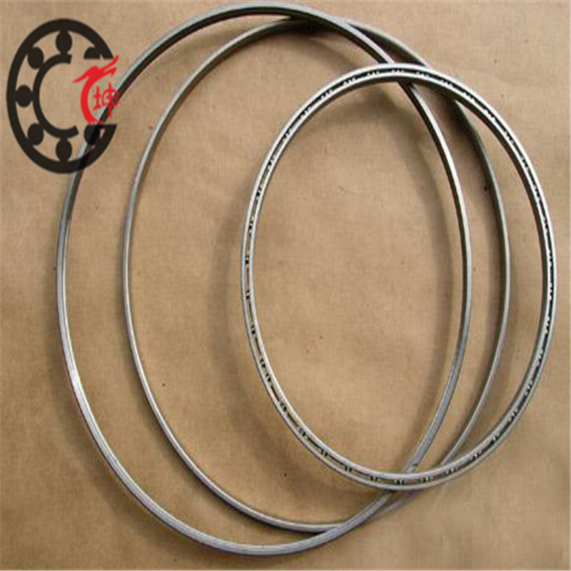 KG050AR0/KG050CP0/KG050XP0 Reail-silm Thin-section bearings (5x7x1 in)(127x177.8x25.4 mm) CNC machine tool bearings Open Type 1pcs 71822 71822cd p4 7822 110x140x16 mochu thin walled miniature angular contact bearings speed spindle bearings cnc abec 7