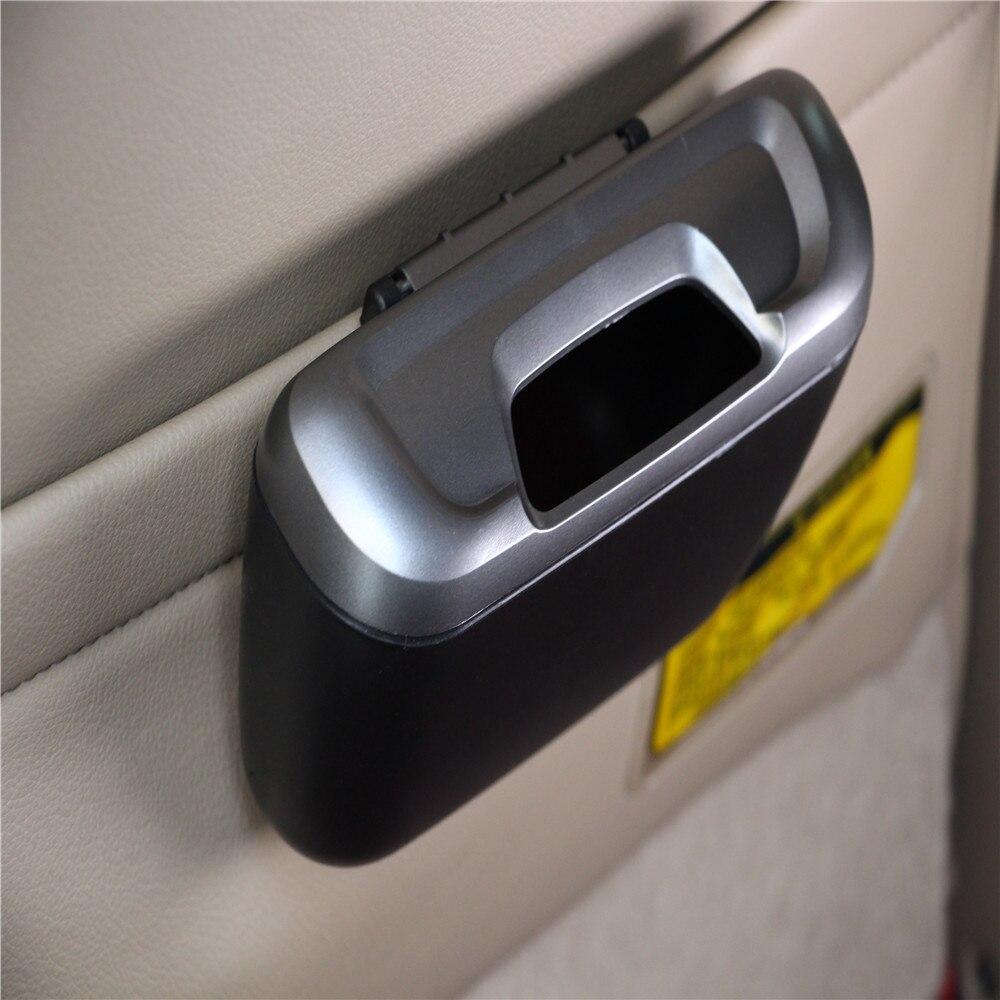 Vehicle Auto Car Garbage Dust Case Holder Box Bin Trash For Renault Koleos Fluenec Latitude Kadjar Captur Talisman Megane RS