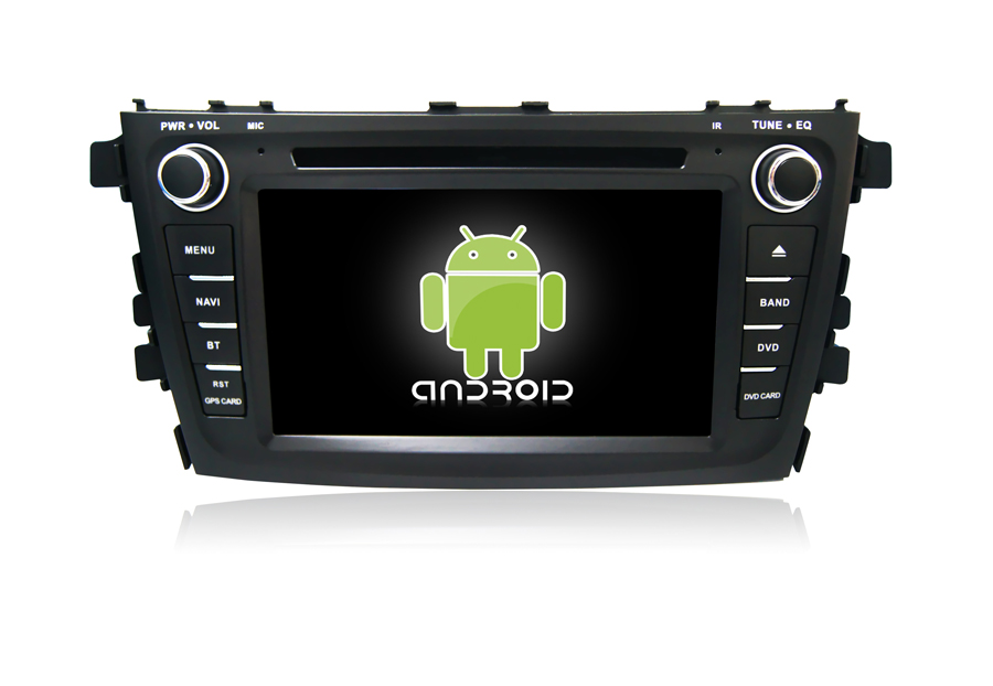 Perfect Navirider car dvd player for Suzuki Alto/celerio octa core android 8.1.0 car gps multimedia head unit stereo tape recorder 1