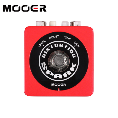 Newest Mooer Spark Series Pedal / Compact True Bypass SPARK Distortion Effects Pedal for Guitar / Electric Guitar Effectors mooer hustle drive distortion guitar effect pedal micro pedal true bypass effects with free connector and footswitch topper