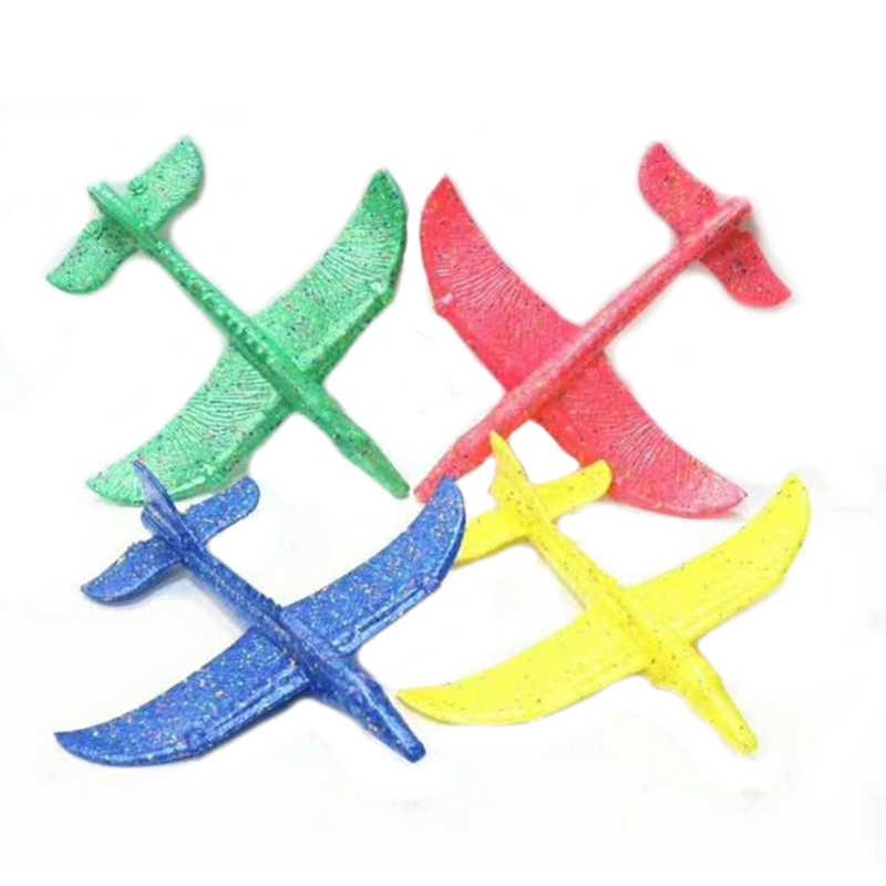48 centímetros EPP Modelo de Avião Avião Trem Dragão Ao Ar Livre Educacional ToysHand Lançamento Jogando Planador Aeronaves Inercial FoamDinosaur