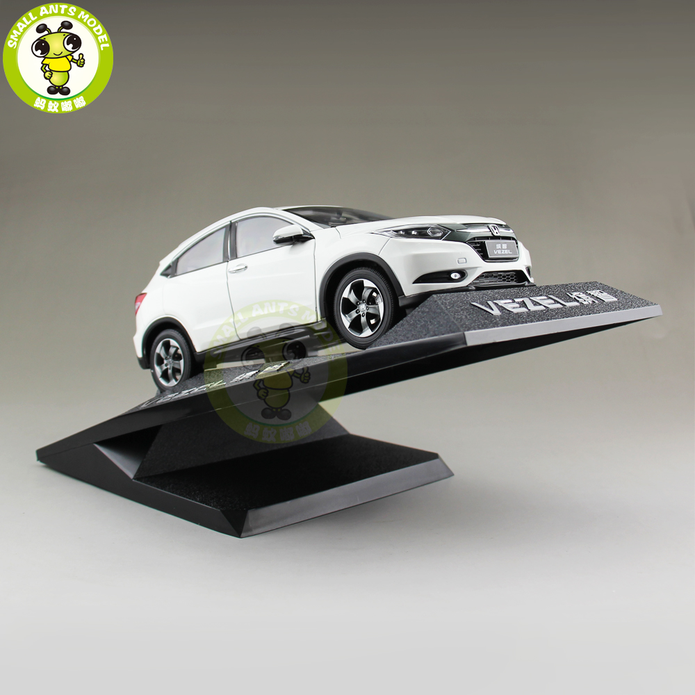 1/18 Honda VEZEL SUV Diecast Metal Car SUV Model Toys Boy Girl Gift Collection Hobby White 1 18 vw volkswagen teramont suv diecast metal suv car model toy gift hobby collection silver