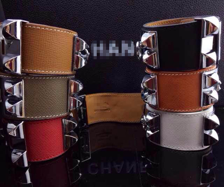 Jewelry H Rivet Leather CDC...
