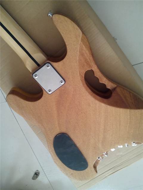 Custom Handmade Quality headless electric guitar 5