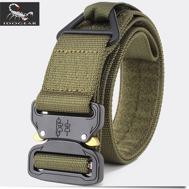 """Details about  /IDOGEAR 1.5/"""" Tactical Belt Quick Release Riggers Belt EDC Airsoft Paintball Army"""