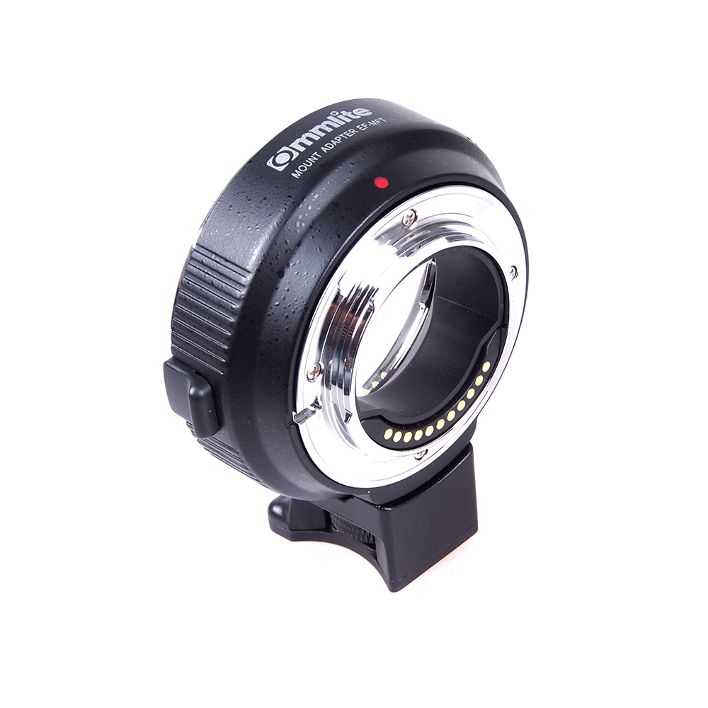 цена на COMMLITE CM-EF-MFT Lens Adapter for Canon EOS EF/EF-S to Micro Four Thirds /MFT Camera Supports Electronic Auto Aperture Control