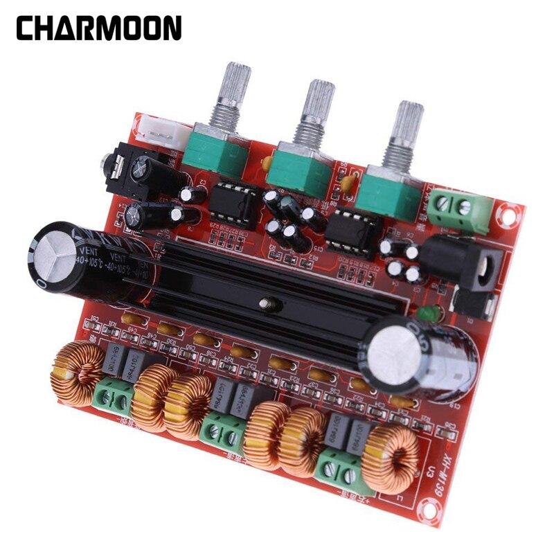 TPA3116D2 2x50W+100W Amplifier Board  2.1 Channel Digital Subwoofer Power Amplifier Board DC12V-24V