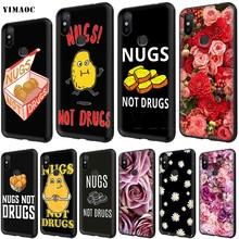 YIMAOC Nugs not Drugs Case for Xiaomi Redmi mi Note MAX 3 6a 7 6 8 9 go se mi6 mi8 a1 a2 Lite for 8A f1(China)