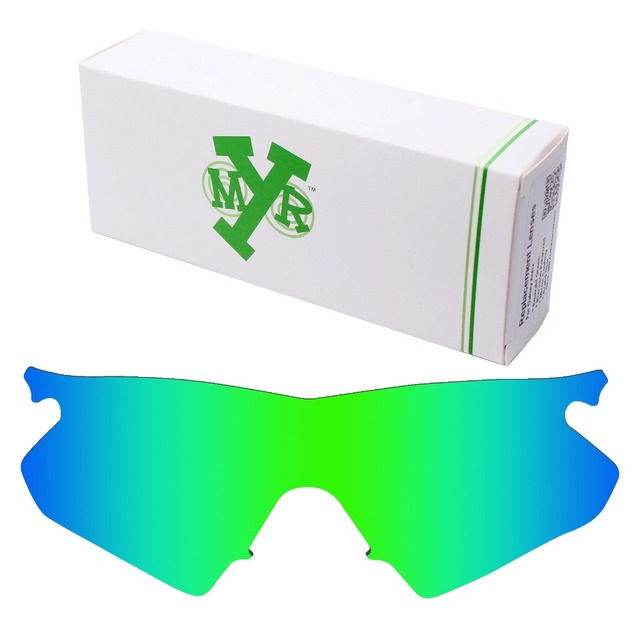 MRY POLARIZED Replacement Lenses for Oakley M Frame Heater Sunglasses Emerald Green
