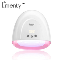60W LED UV Nail Lamp for Gel Polish With 5 Timer Nail Dryer Lamp with Automatic Sensor for Fingers and Toenails Nail Tools