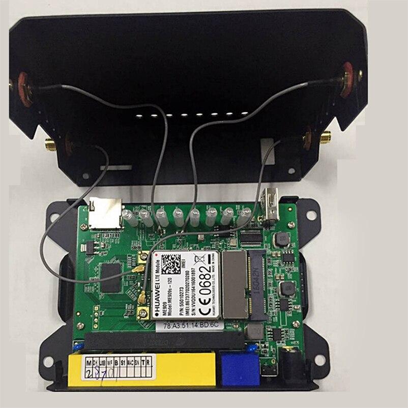 Cioswi-enrutador Ite 3G 4G, enrutador WiFi de 300Mbps, enrutador módem 2,4G/5GHz, 128MB de RAM, WE826-T Router Wifi móvil 4g con ranura para tarjeta Sim Superbat antena Dual 6DBi omnidireccional enchufe de RP-SMA macho (pin hembra) conector para interior Wi-Fi señal de rango inalámbrico