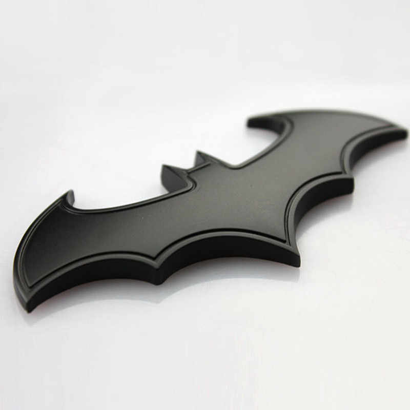 3D Metallo Bat Auto Logo Auto Batman Badge Emblem Moto Creativo Sticker Per MAZDA 3 6 2 CX5 2018 CX-5 CX3 2017 323