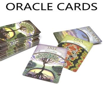 W języku angielskim ziemi tajemnicy karty talii 48 kart, tarota-Future Fate Fortune Telling angielska gra karciana