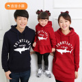 Autumn and winter Family clothing fall autumn and winter long-sleeved hoodies and sweatershirts mother and daughter mom girl fat
