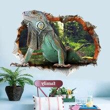 Decoracion Hogar DIY Animal World 3D Wall Stickers Removable Kids Nursery Home Backdrop Decor Mural Art Decal Stickers Muraux
