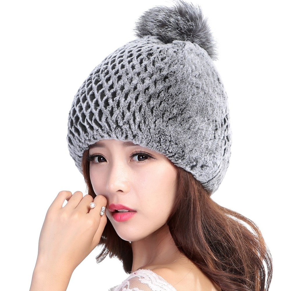 Winter hat female-7166